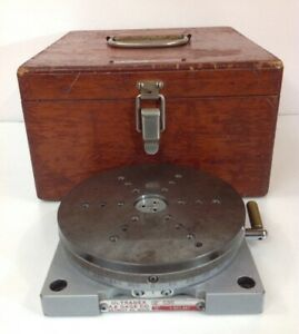 Ultradex Aa Gage 5 25 Precision Rotary Indexing Table 360 X 1 W case