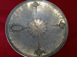 Estate Find Sterling Silver Tray Hallmarked 9190 13 7 Ounces