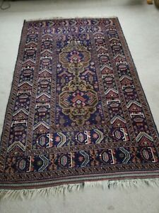 Afghan Tribal Rug In Exc Condition 6 10 X 4 3 Ft Hand Made Highly Detailed