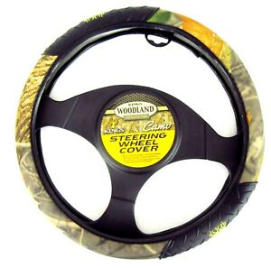 Steering Wheel Cover King S Camo Woodland Shadow Universal Fit Car Truck