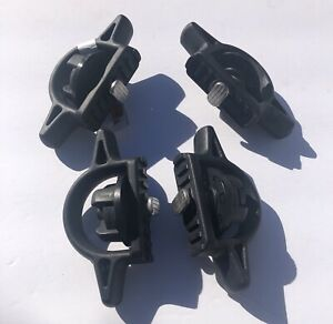 Set Of 4 Factory Oem Cargo Bed Tie Down Cleats 2005 2019 Toyota Tacoma Truck