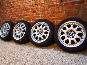 4x Genuine Bbs Bmw 5 series E39 Rims Alloy Wheels Style 80 6756231 17 Inch