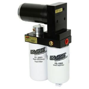 Fass 290 Gph Titanium Fuel Air Lift Pump For 01 16 Gmc Chevy 6 6l Duramax Diesel