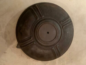 Vintage Modern Glenwood Cast Iron Wood Stove Top Plate Cover Our G 111 1908 62