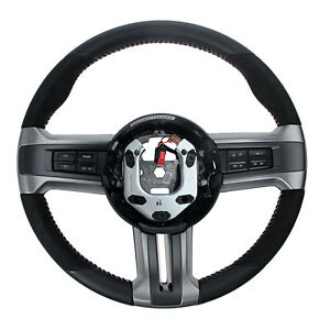 Ford Cr3z 3600 ab Mustang Steering Wheel Gt500 Leather And Alcantara 2010 2014
