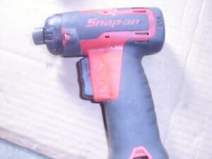Snap On Cordless Screwdriver Cts725 Bare Tool Works Well