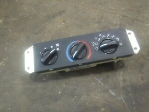 Jeep Wrangler Tj 99 04 Factory Heater Ac Climate Controls For Parts 56037612aa
