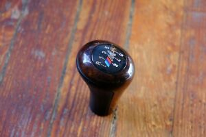 Bmw E46 Zhp 6 Speed Manual Leather Gear Shifter Shift Knob Weighted Short E36
