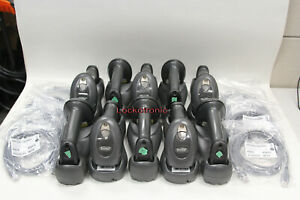 Lot Of 10 Motorola Symbol Barcode Scanner Ls4278 Stb4278 Cradle New Battery