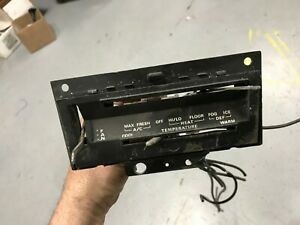 1969 1970 Mustang Mach 1 Grande Shelby Cougar Xr7 Orig A C Heater Control Panel