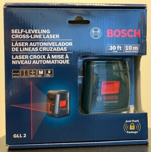 Bosch Gll 2 30 Ft Self leveling Cross line Laser Level W Clamping Mount New