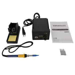 Practical 937d Electric Iron Soldering Station Smd Welder Welding W Iron Stand