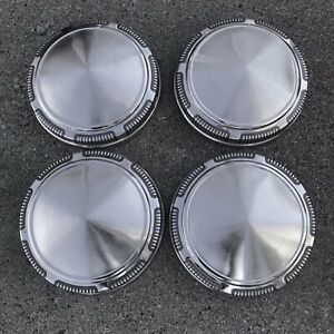 Orig 70 S Oem Mopar Plymouth Dodge Poverty Dog Dish Hubcaps Wheel Covers Ex Cond