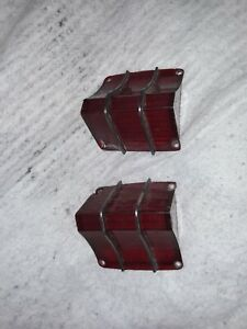 1967 Chevy El Camino Elco Ss 396 Rear Tail Light Lamp Lens Gm 5959069 070 Used