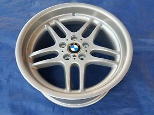 Bmw E39 540i Oem Mpar M Parallel 18x9 Rear Restored Style 37 Forged Wheel Rim