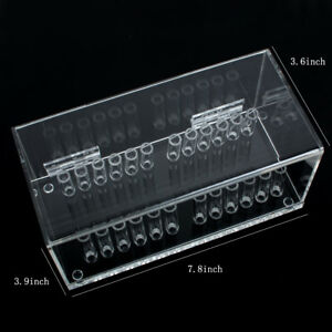 Dental Acrylic Organizer Holder Case For Placing Orthodontic Preformed Wire Bur