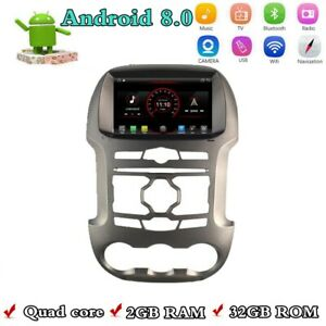 Android 8 0 8 Hd Car Gps Navigation Radio Stereo For Ford Ranger 2012 2014 Wifi