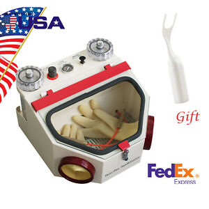 Usa Dental Lab Equipment Double Pen Fine Sandblaster Unit Free Gift