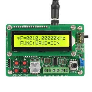 Function Signal Generator Source Frequency Counter Dds Module Wave Usb To Ttl Hl