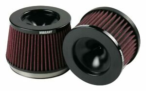 Vibrant Short Turbo Inlet Filter 4 In X 5 Od X 4 63 H 4 25 Overall 10931