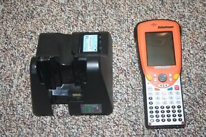 Psion Teklogix Ds 1100 Datastream Barcode Scanner W cradle Battery