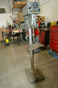 Drill Press Clausing 15 inch Drill Press Variable Speed Jacobs Chuck