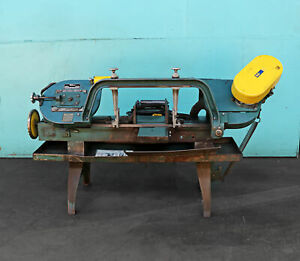 Wellsaw 8 Horizontal Cutting Band Saw Model 8