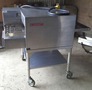 Blodgett Middleby Electric Single Deck Conveyor Convection Pizza Oven Mt1828e