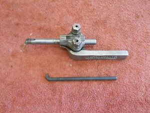 Williams No 80 Boring Bar Tool Holder Craftsman 12 South Bend 9 10k Lathe