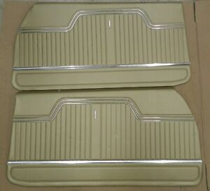 1970 Chevelle Coupe Ss 396 Front Interior Door Panels Gold In Stock