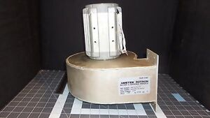 Ametek Rotron Blower Housing Motor 1487 02 Rev C 3300rpm 208v 4 7a 3ph 3781