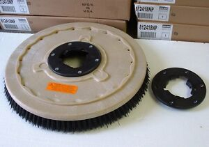 Grit Brush 17 Floor Buffer replaces Black Pads 1 Free Np9200 Plate