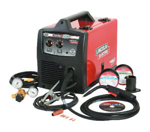 Lincoln Electric 180 Pro Mig Cored Wire Feed Welder K2481 1