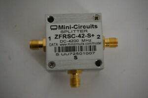Mini Circuits Zfrsc 42 s Splitter Dc 4200 Mhz With Sma f Connector Uu72501007