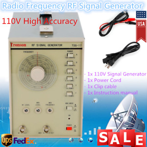 110v Radio Frequency Signal Generator Rf am Tsg 17 100khz 150mhz High Quality Us