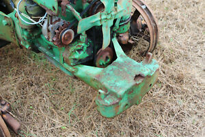 Antique John Deere M 40 Crawler Dozer M1018t Front Support Farmerjohnsparts