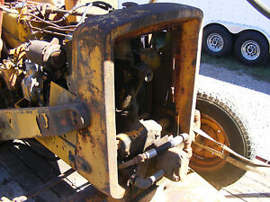 Antique John Deere 440 Industrial Tractor Front Grill Farmerjohnsparts