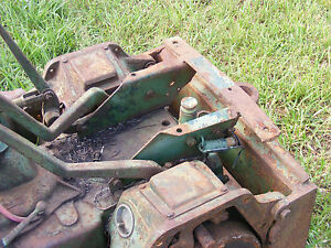 Antique John Deere M 40 Crawler Dozer Seat Base Farmerjohnsparts