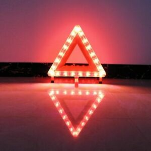Auto Car Red Warning Triangle Reflective Led Strips Reflective Tape Reflectors