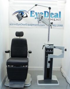 Reliance 6200 Ophthlamic Chair Reliance 7720 Ophthalmic Stand And Wheel Chair Gl