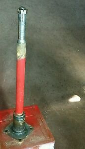 Farmall H Front Steering Bolster Shaft