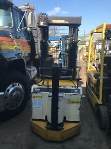 Yale Mrw030le Walk Behind Stacker Electric 24 Volt W Charger Triple Stage Lift