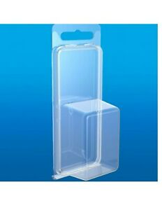 Clamshell Blister Packs Clear Boxes Hanging Jewelry Packaging Display Clam Shell