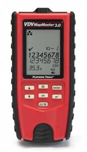 Platinum Tools T130 Vdv Mapmaster 3 0 Cable Tester