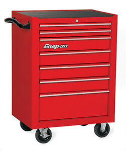 Snap on 26 7 Drawer Single Bank Heritage Series Roll Cab Kra2007 Snap On