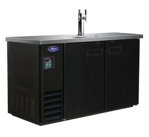 Valpro Vpbd3 1 60 1 tower 2 taps Commercial Bar Beer Dispenser Kegerator New