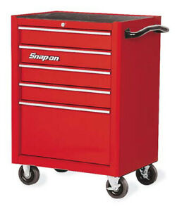 Snap on 26 5 Drawer Single Bank Heritage Series Roll Cab Kra2005 Snap On