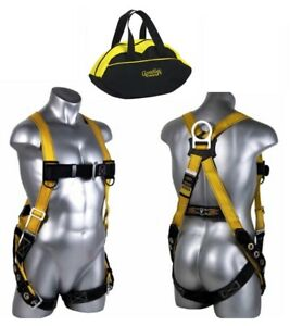 Guardian Fall Protection Velocity Body Harness Safety Construction S l W bag