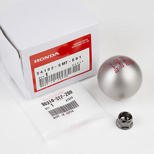 Genuine Oem Honda Type R Shift Knob Bolt 54102 smt e01 90310 st7 z00