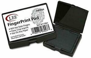 Lee Inkless Fingerprint Pad 1 000 Applications Per Pad